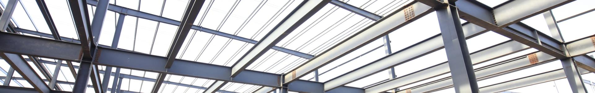 Banner stalowa konstrukcja dachowa