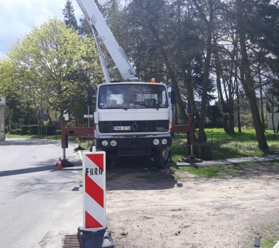 ciężarówka wparku