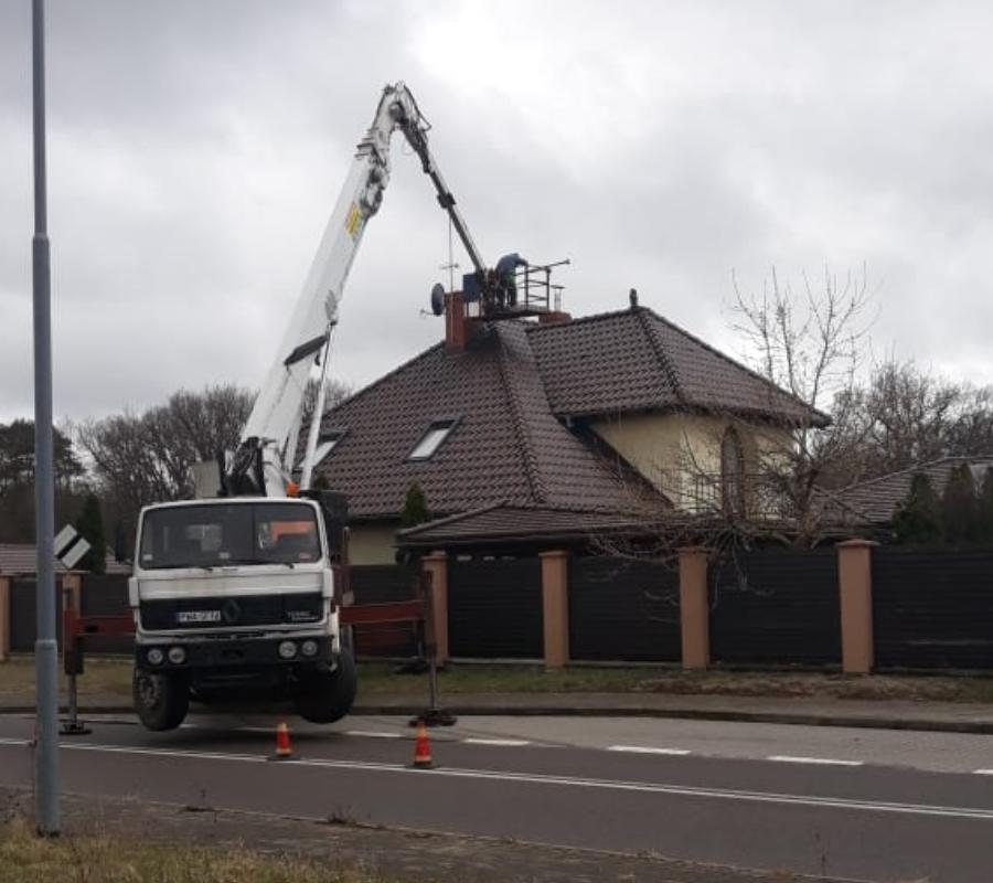 montaż dachu wdomu